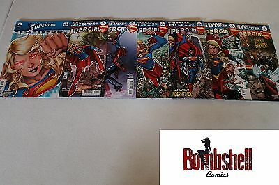 Supergirl Rebirth 1 2 3 4 5 6 Complete Comic Lot Run Set 1st Print Collection DC