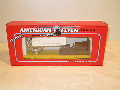 American Flyer S Gauge Union Pacific Searchlight Car 6-49003 New Ob