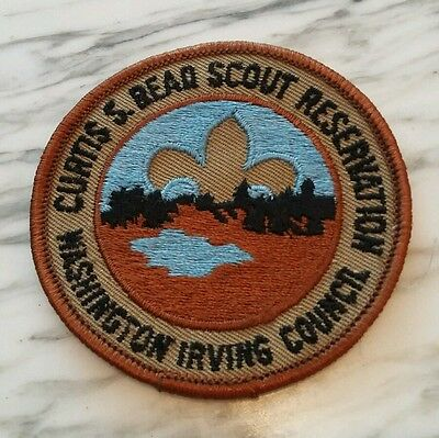 Curtis S. Bead Scout Reservation Washington Irving Council BSA Patch