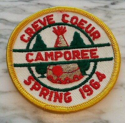 Creve Coeur Camporee Spring 1964 Boy Scouts of America Patch