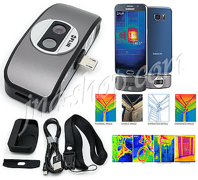 Flir One for Android Thermal Imager Camera Attachment New 2G 160x120 + Powerbank