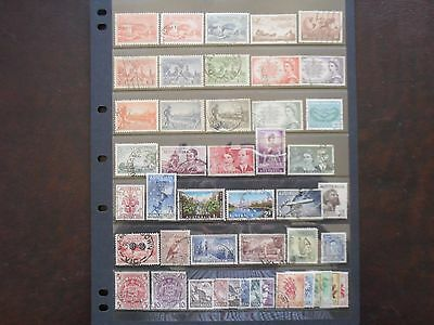 Australia Collection Of Pre Decimal Stamps Used