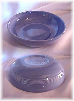 Vintage Homer Laughlin Harlequin Mauve Blue Salad Bowl Fiesta (A)