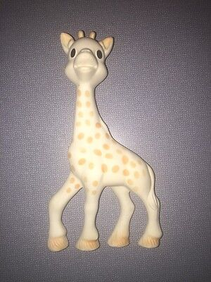 Vulli Sophie the Giraffe Soft Baby Squeaky Teething Toy 7 Inch