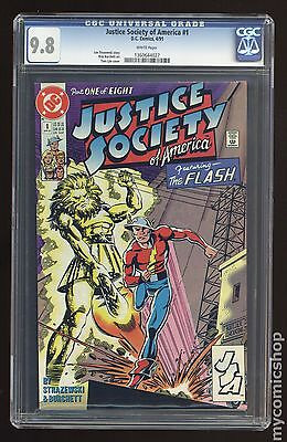 Justice Society of America (1991 1st Series) #1 CGC 9.8 1360644027
