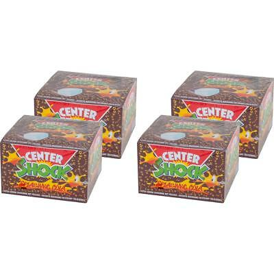 Center Shock Splashing Cola 100 Stück - Extra saurer Kaugummi (4er Pack)