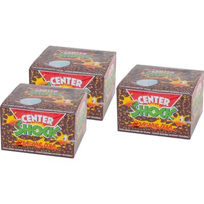 Center Shock Splashing Cola 100 Stück - Extra saurer Kaugummi (3er Pack)