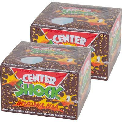 Center Shock Splashing Cola 100 Stück - Extra saurer Kaugummi (2er Pack)