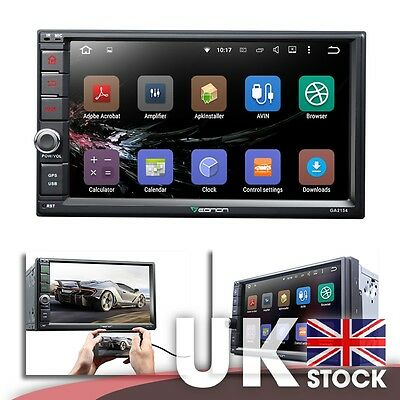 """GA2154 2-DIN Android 5.1 7"""" Car GPS w  Mutual Control EasyConnected (No DVD)"""