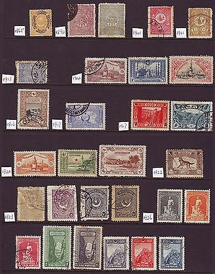 Old Ottoman Empire  Postmarks & Mint Group  == 29 ==