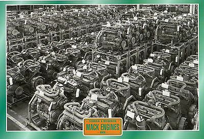 Mack Engines            Glossy   Picture (T138)
