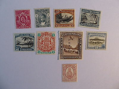 Commonwealth pre QE2 collection m/mint
