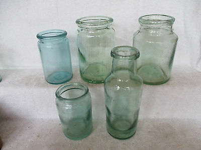 Selection Of Victorian Preserve Jars