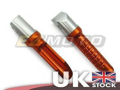 OR Passenger Rear Motorcycle Foot Pegs Rests Custom fit Honda CBR600RR 07-14