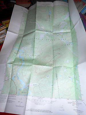 Lot of 13 Vintage TOPOGRAPHICAL NEW YORK NY MAPS in case 1968 + 1997 Wolf Mt +++