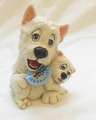 Pets with personality - WESTIE AND PUP
