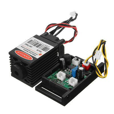 Focusable 500mw 808nm Infrared IR Laser Diode Dot Module 12V + TTL+ Fan Cooling