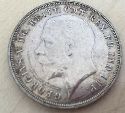 1935 George V  Silver Crown - Nice Coin