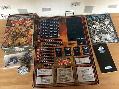 Games Workshop Vintage Chainsaw Warrior 60 Minutes To Save New York Board Game