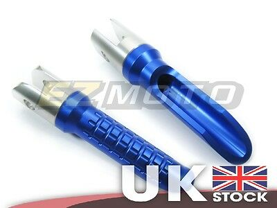 Blue Rider Motorcycle Footrest Foot Pegs Rests Custom fit Yamaha YZF R6 06-14