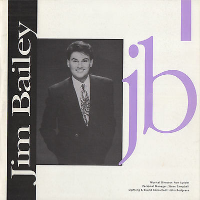 Jim Bailey - Female Impersonator - Programme + Rare Autograph - Gay Interest