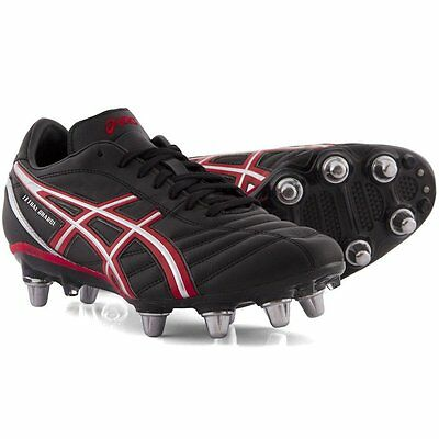 Asics Mens Lethal Charge 8 Stud Rugby Boots (P029L-9023) UK 6 - UK 13 rrp£90