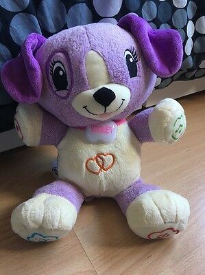 Leap Frog My Pal Violet Interactive Plush Toy Dog