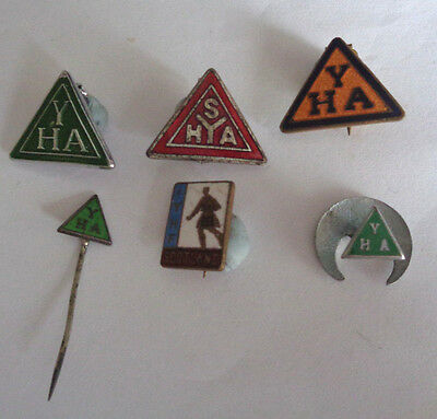 COLLECTION YOUTH HOSTEL ASS , ENAMEL LAPEL BADGES some  SCOTTISH  Y H A