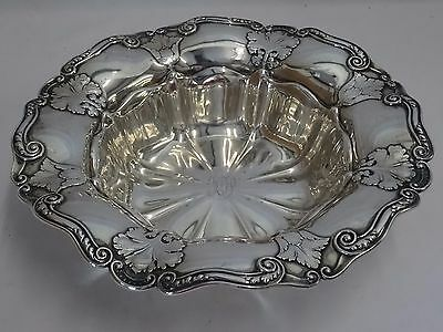 "Athenic By Gorham Sterling Silver  A3037 Bowl 10"" - Excellent"