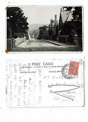 Devon Post Card Real Photo Of Bovey Of 945