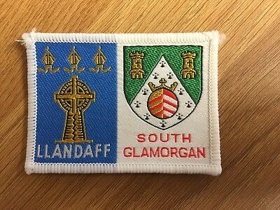Llandaff District / South Glamorgan  County double Scout cloth badge