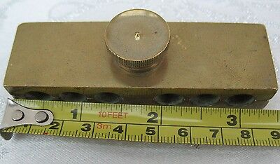 Suppository Mold May Roberts Medical Pharmacy Equipment Antique Vintage Collect