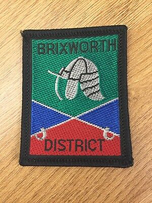 Brixworth District UK Scout cloth badge