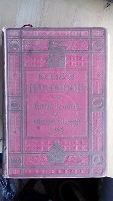 Kelly's directory handbook to the titled. Landed and official classes 1944