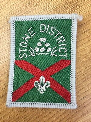 Stone District UK Scout cloth badge