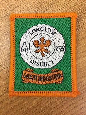 Longton District UK Scout cloth badge