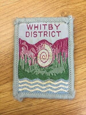 Whitby District UK Scout cloth badge
