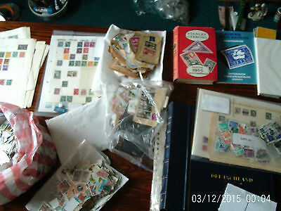 Box 1 Stamps And Accessories