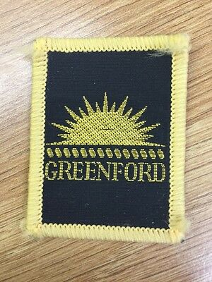 Greenford District UK Scout cloth badge