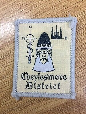 Cheylesmore District UK Scout cloth badge