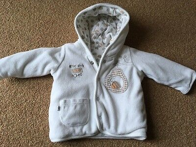 M&S Little Birds Tree House Unisex Jacket Up To 1 Month
