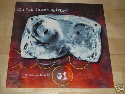 """12"""" Statik Sound System - The Essential Times 01 - Cup Of Tea Records"""