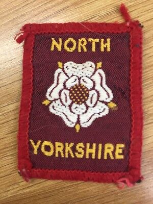 North Yorkshire District UK Scout cloth badge