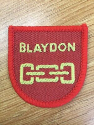 Blaydon District UK Scout cloth badge