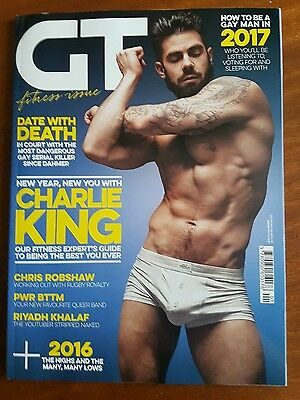 Gay Times January 2017 Charlie King Cover