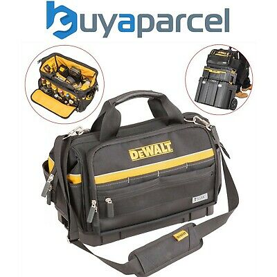 "Dewalt DE9883 54cm 21"" Hard Bottom Heavy Duty Tough Toolbag Duffel Tool Bag"