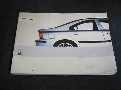 2003 Volvo S60 French Owners Manual Book Guide Manuel