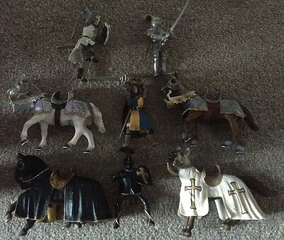Schleich Knights And Horses Crusader Please Read Description