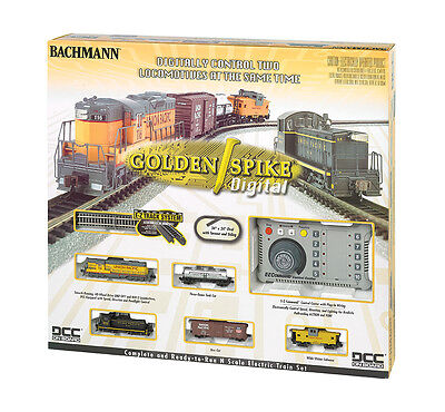 Bachmann 24131 N Scale Ready to Run Train Set Golden Spike with DCC