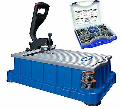 Kreg Db210 Foreman Pocket-hole Machine, Blue with Screw Kit #Sk03 675 of the ...